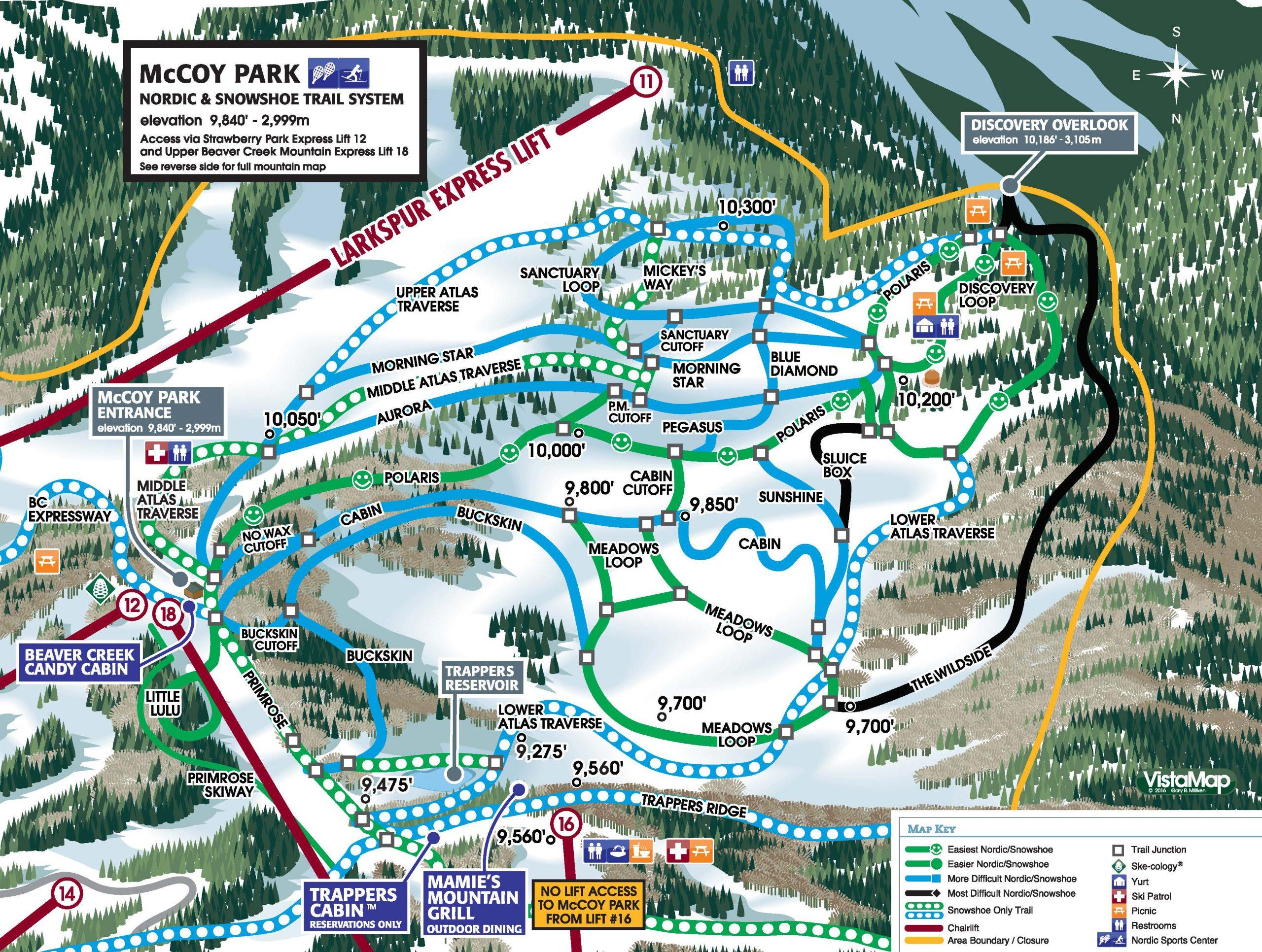 MCCOY NORDIC PARK MAP